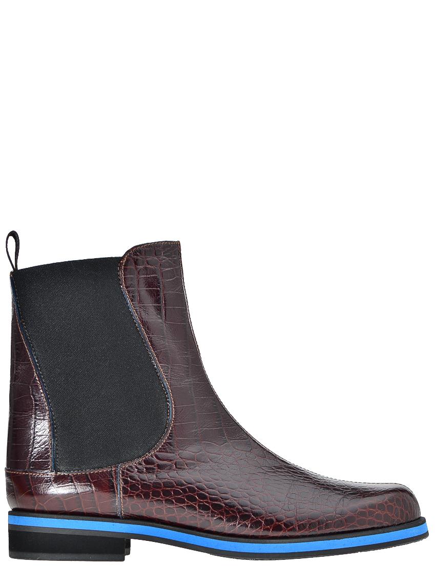 Купить Ботинки, POLLINI, Бордовый, Осень-Зима