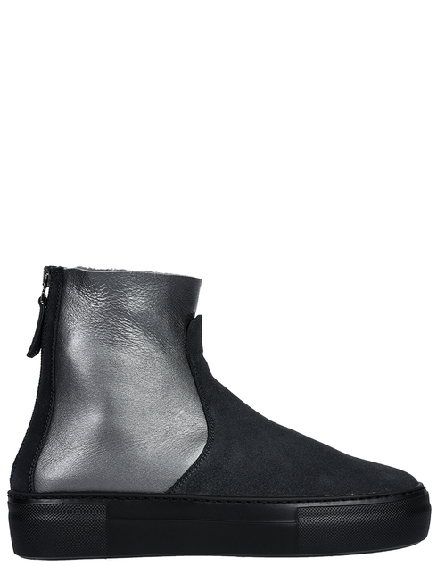 женские серые Ботинки Pertini 192W16270D4 - фото-6