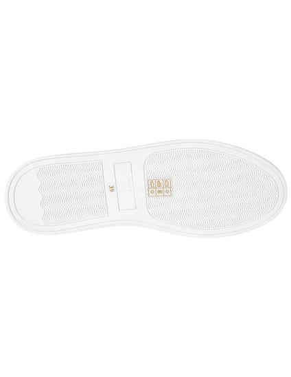 женские белые Кеды Trussardi Jeans 79A003089Y099999-M021 - фото-6