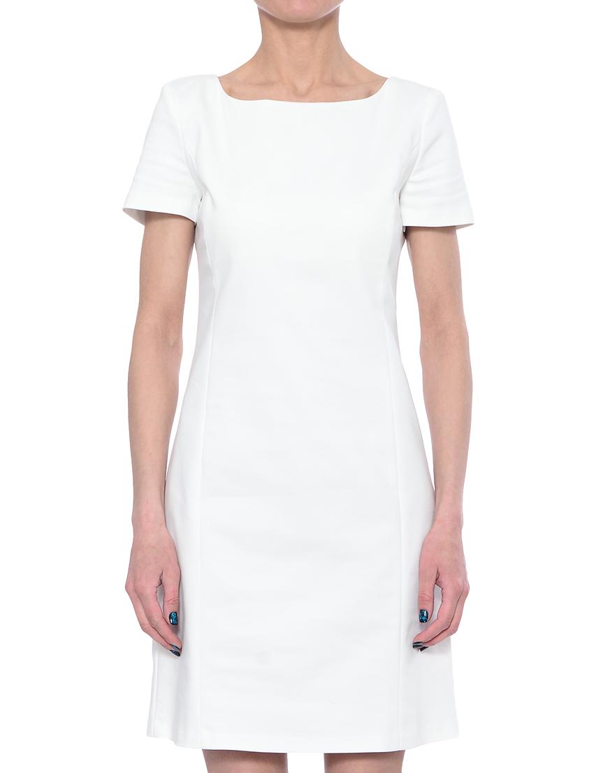 Купить Платье, PATRIZIA PEPE, Белый, 49%Хлопок 48%Полиэстер 3%Эластан;65%Ацетат 35%Полиэстер, Весна-Лето