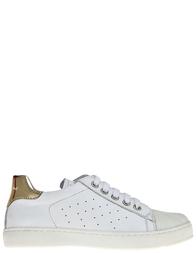 Детские кроссовки для девочек Naturino 4064-bianco-oro_white