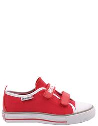 Детские кеды для девочек MOSCHINO 24902-red