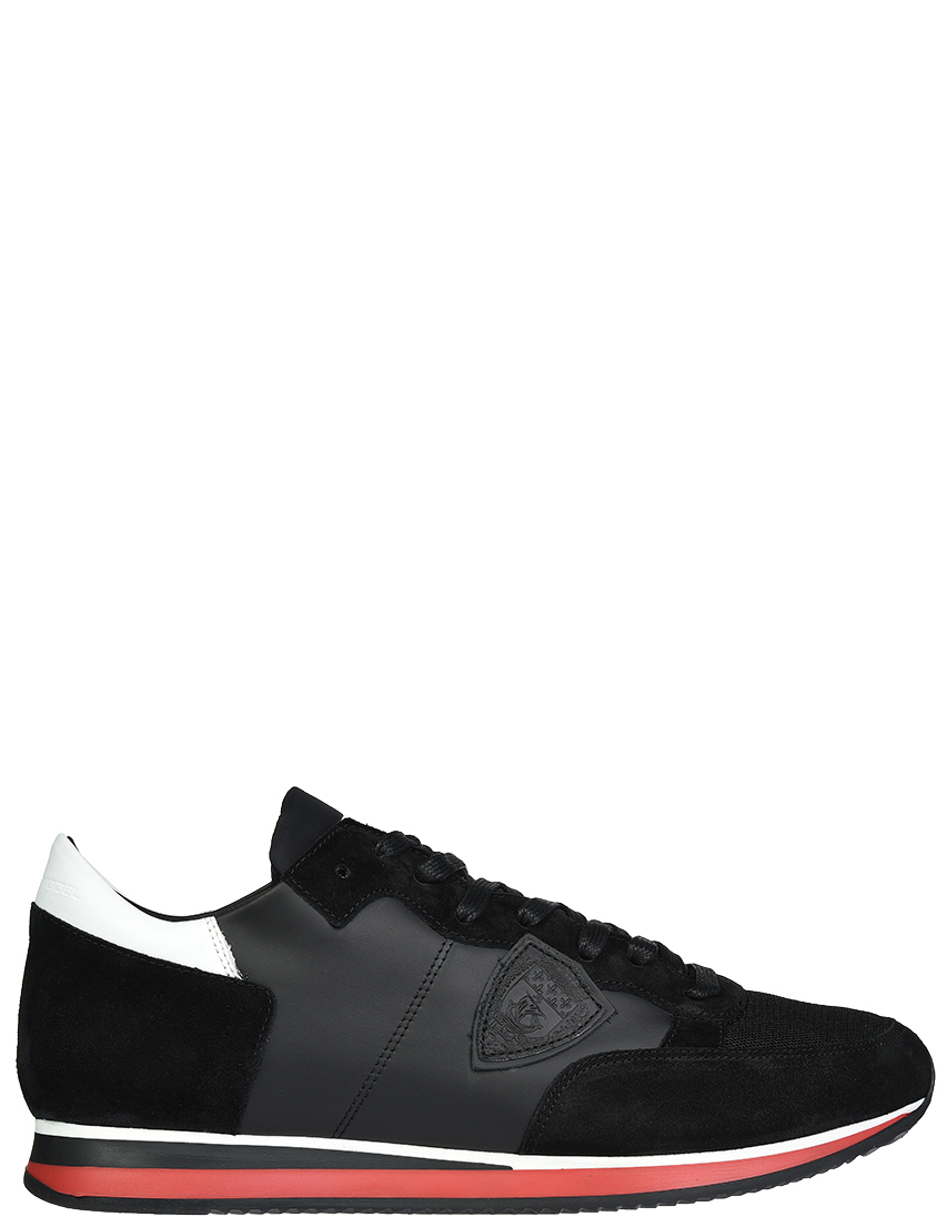 Мужские кроссовки Philippe Model SWZ60_black