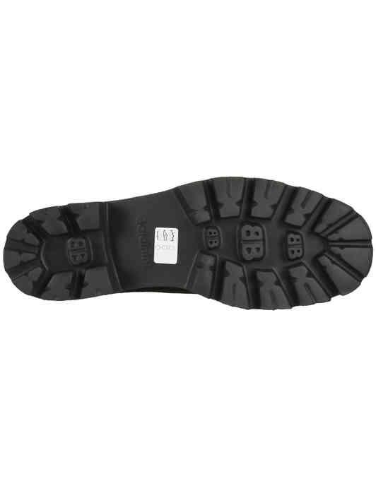 женские черные замшевые Ботинки Baldinini 949179_black - фото-5