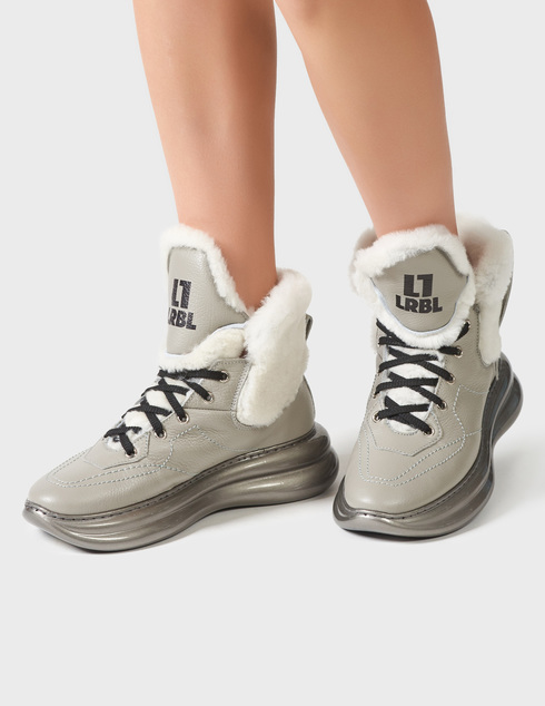 серые Ботинки Loriblu AGR-1IXV0245XV