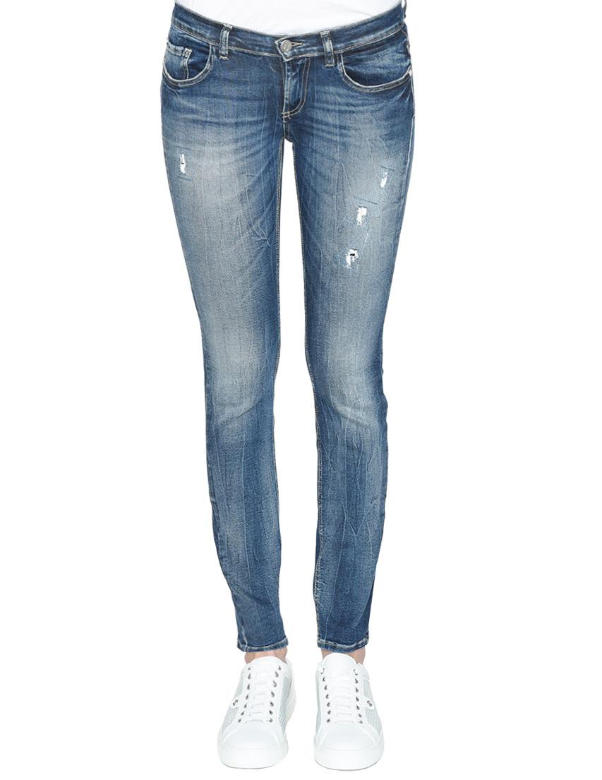 Женские джинсы FRANKIE MORELLO FWCS8330JE-B02-blue