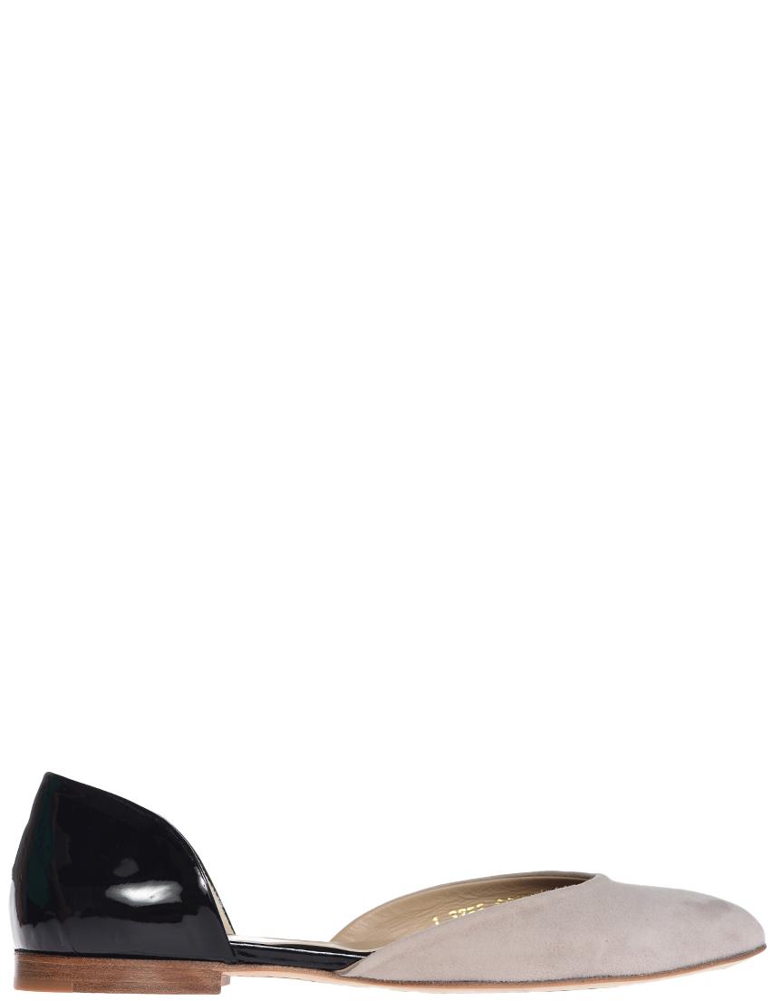 Купить Туфли, REDWOOD, Серый, Черный, Весна-Лето