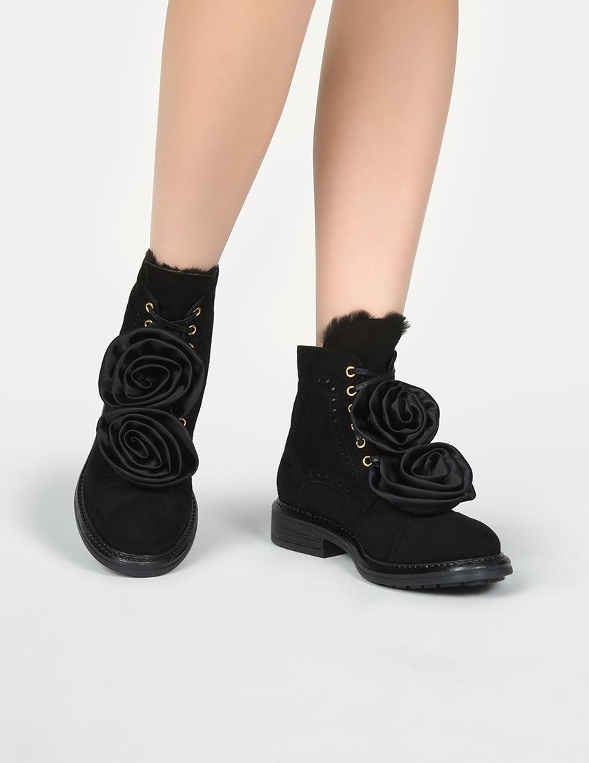 Женские ботинки Pokemaoke ARGENTA_black