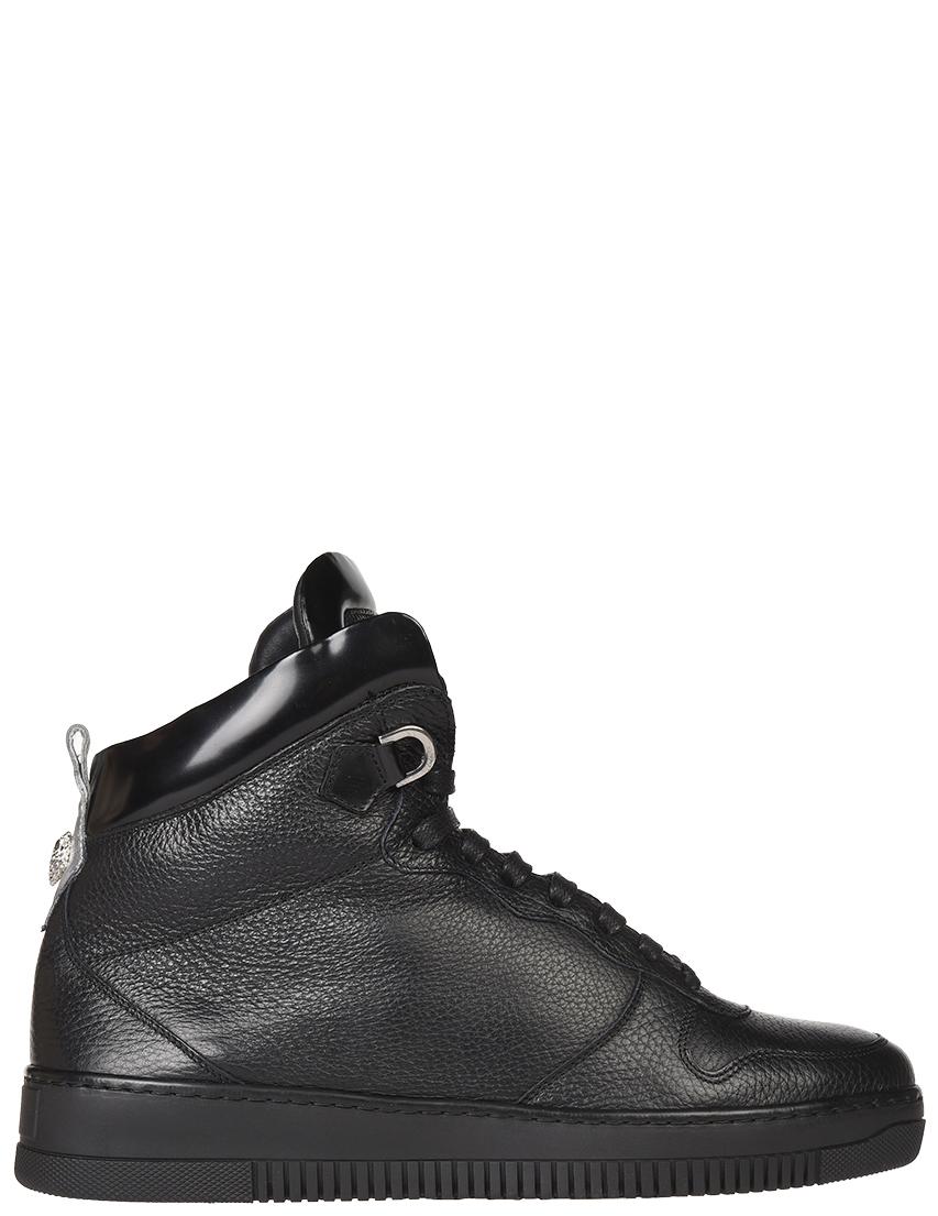 Мужские кроссовки Roberto Cavalli 3004-1-М_black