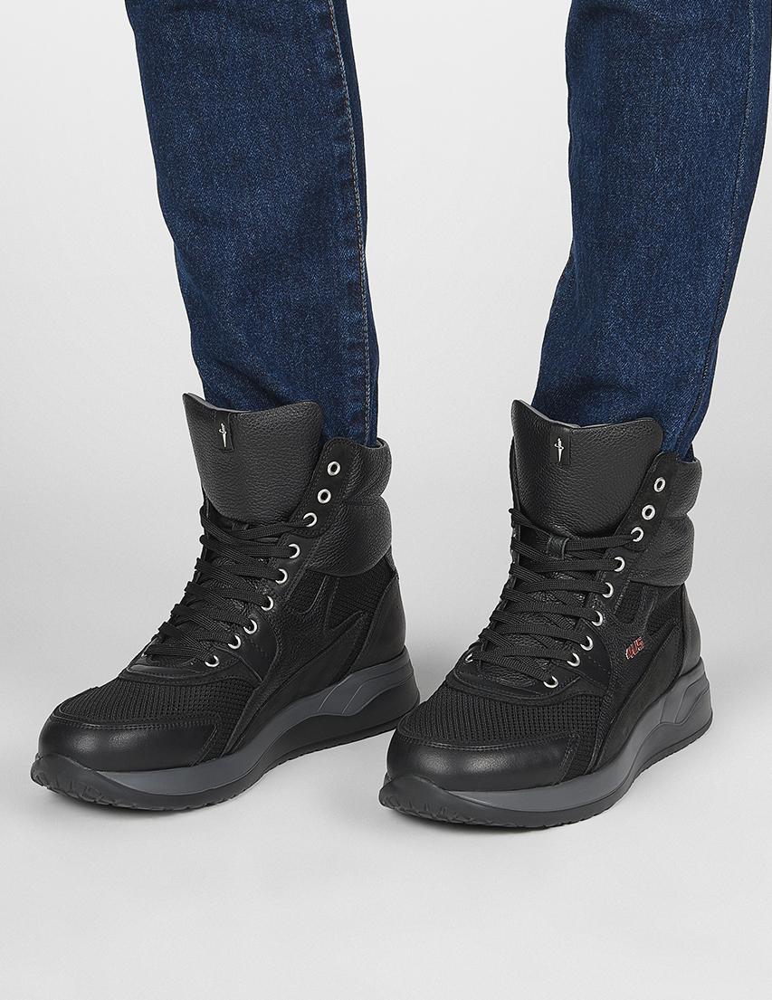 Мужские кроссовки 4US Cesare Paciotti 692_black