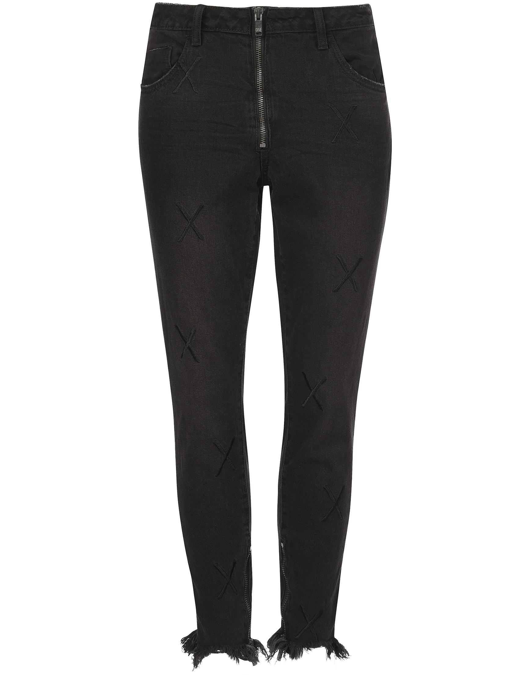 Женские джинсы ONETEASPOON 20917-black