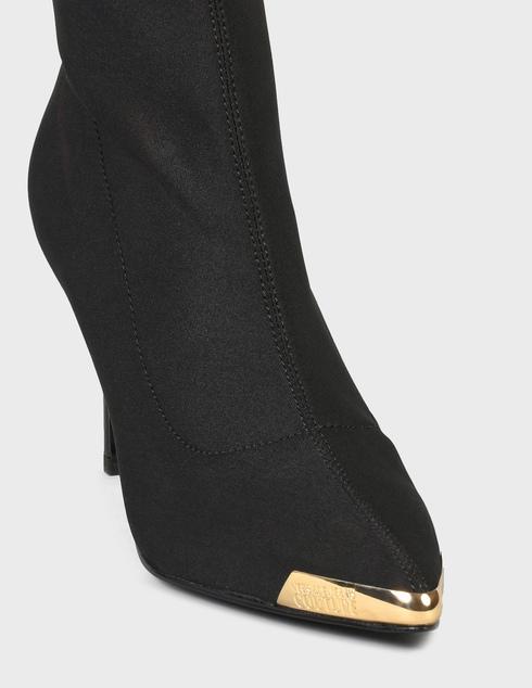 женские черные Ботфорты Versace Jeans Couture 71VA3S53-899 - фото-6