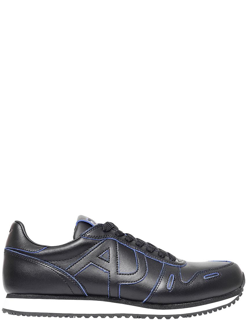 Мужские кроссовки Armani Jeans 7A422_black