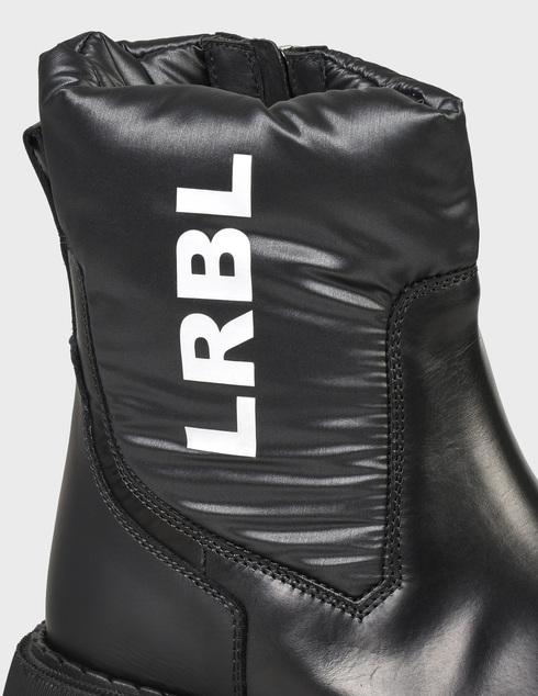 женские черные Ботинки Loriblu 2I4BL05400-NERO - фото-6