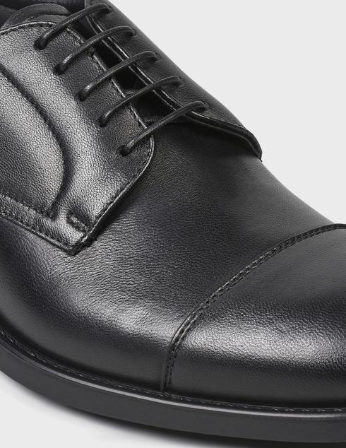 мужские черные кожаные Дерби Fabi FU9504A-900 - фото-5