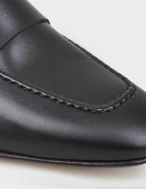 женские черные кожаные Туфли Pertini 191W15508D1 - фото-5