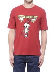Мужская футболка LOVE MOSCHINO 470501E1514P47