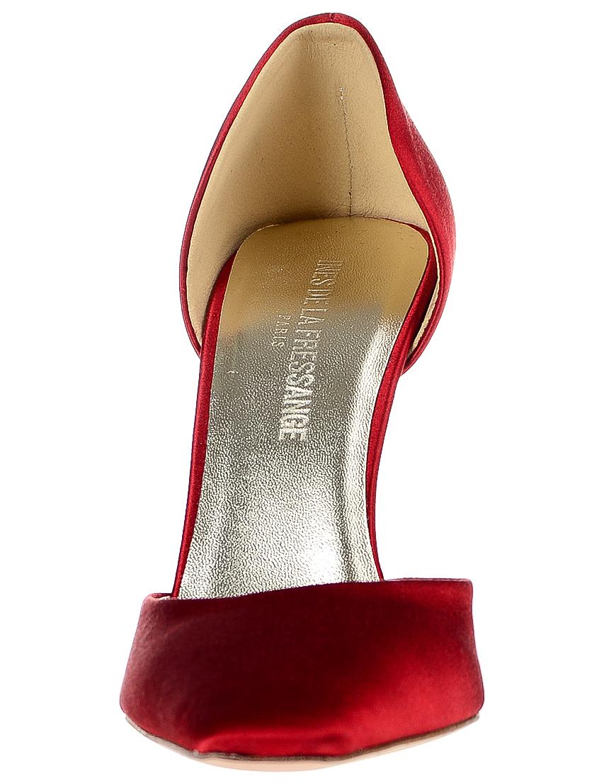 Фото 4 - женские туфли  красного цвета
