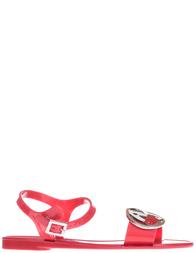 Женские сандалии Armani Jeans AGR-925221-SILICON_red