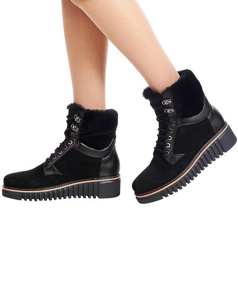 женские черные Ботинки Loriblu AGR-815RT1535R - фото-6