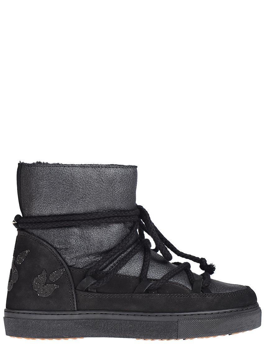 Женские ботинки INUIKII 20135-black