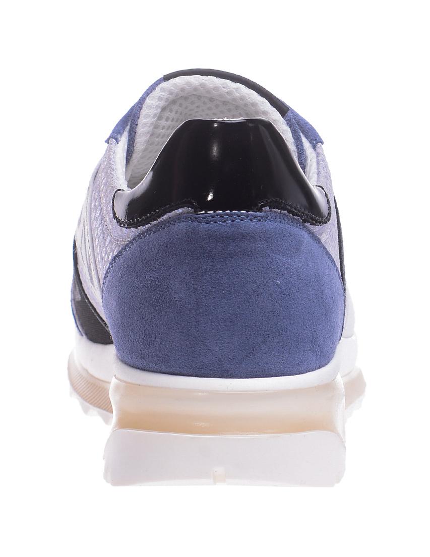 Текстильные голубые кроссовки RICHMOND (ITALY)