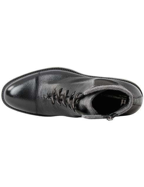 мужские черные кожаные Ботинки Moreschi 42865 - фото-5