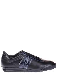 Мужские кроссовки Roberto Cavalli 1001_blackB