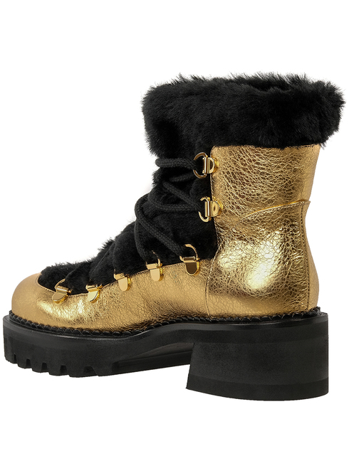 женские золотые Ботинки Ballin B8W9063-1565AGB - фото-2