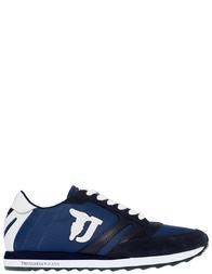 Мужские кроссовки Trussardi Jeans 77605_blue