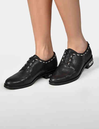 женские черные Туфли What For FW19WF312 - фото-6