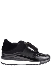 Женские кроссовки Love Moschino AGR-15294-black