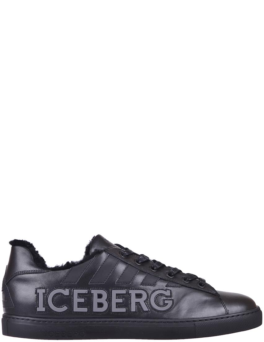 Мужские кеды Iceberg 744_black