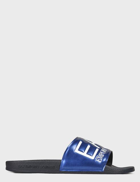 мужские синие Шлепанцы Ea7 Emporio Armani XCP001XCC22-D959 - фото-6
