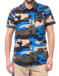 Мужская рубашка LOVE MOSCHINO C58600T77380065