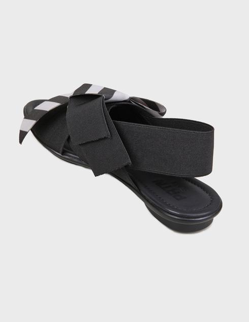 женские черные Босоножки Pertini 201W16903D1 - фото-2