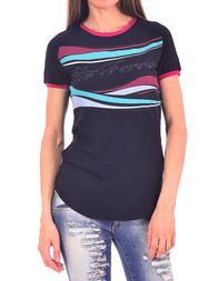 Женская футболка GF FERRE 70XF771282015_black