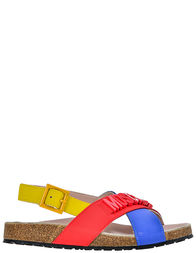 Босоножки для девочек Moschino 25870-bluette-rosso-giallo_multi