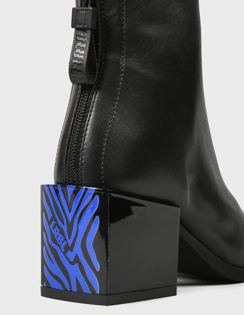 женские черные кожаные Ботильоны Loriblu 1IXT6198XX - фото-5
