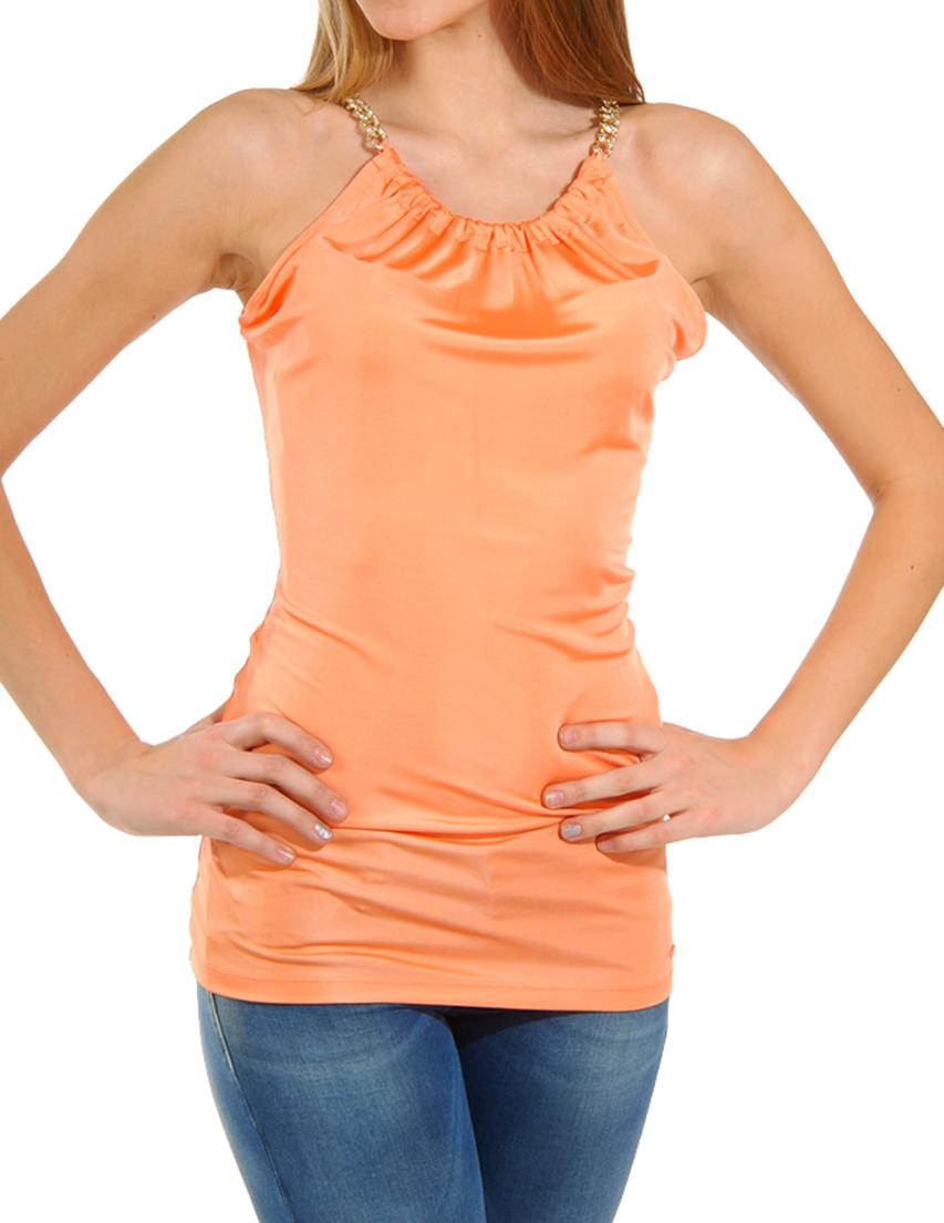 Купить Блуза, GUESS BY MARCIANO, Оранжевый, 100%Вискоза, Весна-Лето