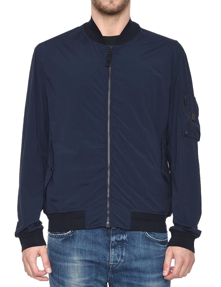 Купить Куртка, HUGO BOSS, Синий, 88%Полиамид 12%Эластан;99%Полиамид 1%Эластан, Весна-Лето