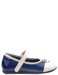 Детские туфли для девочек MOSCHINO 25190-navy