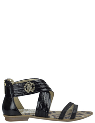Детские сандалии для девочек ROBERTO CAVALLI C40551Y_black