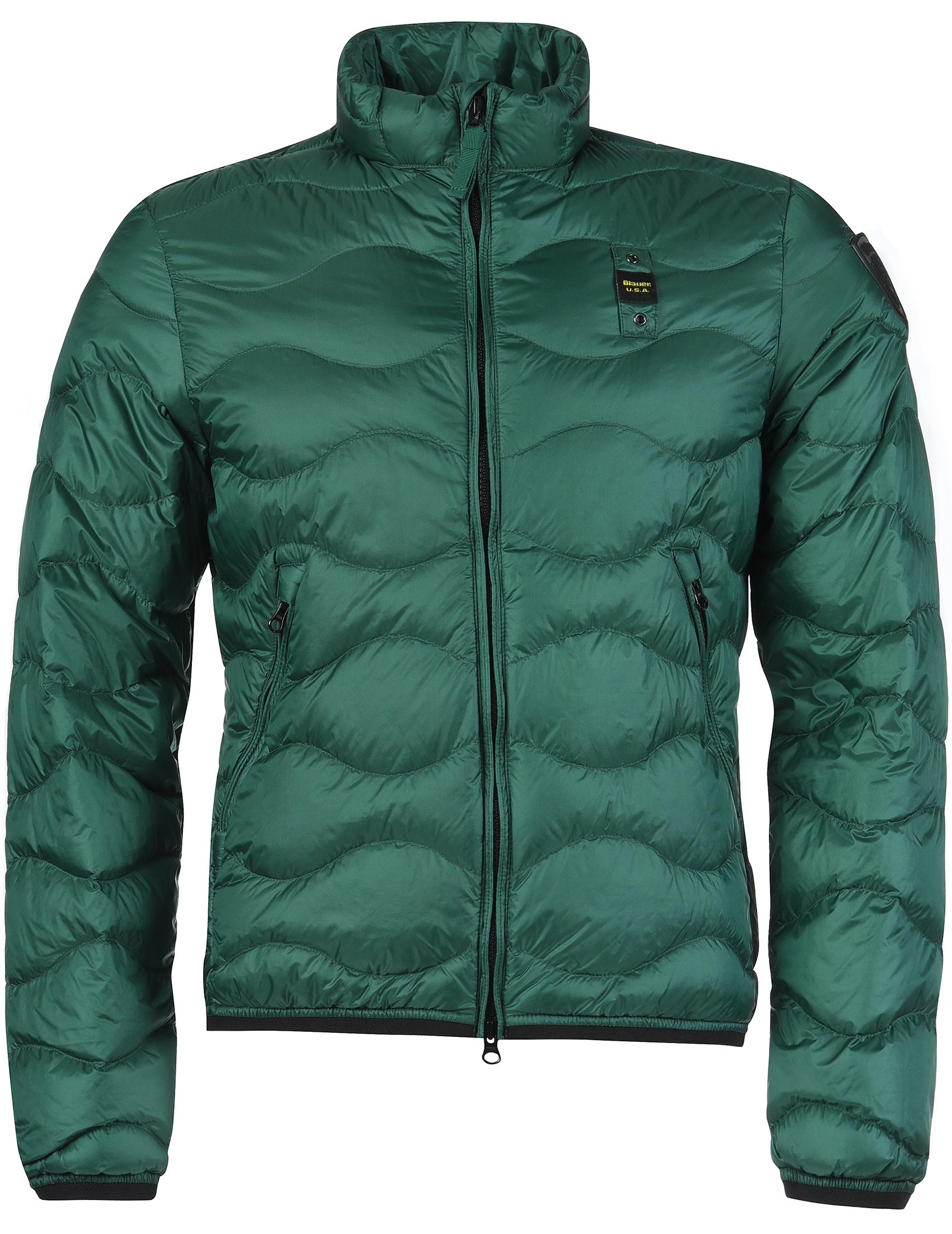 Купить Куртка, BLAUER, Зеленый, 100%Полиамид, Осень-Зима