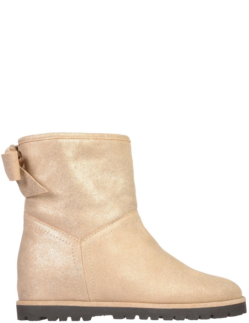 Купить Ботинки, BALLIN, Золотой, Осень-Зима