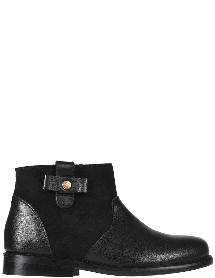 Купить Ботинки, JACADI PARIS, Черный, Осень-Зима