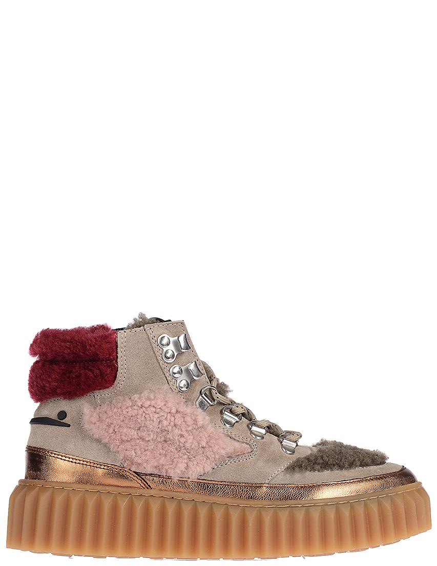 Купить Ботинки, VOILE BLANCHE, Многоцветный, Осень-Зима