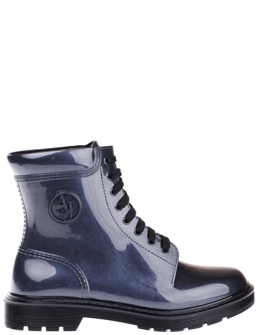 Купить Ботинки, ARMANI JEANS, Синий, Осень-Зима