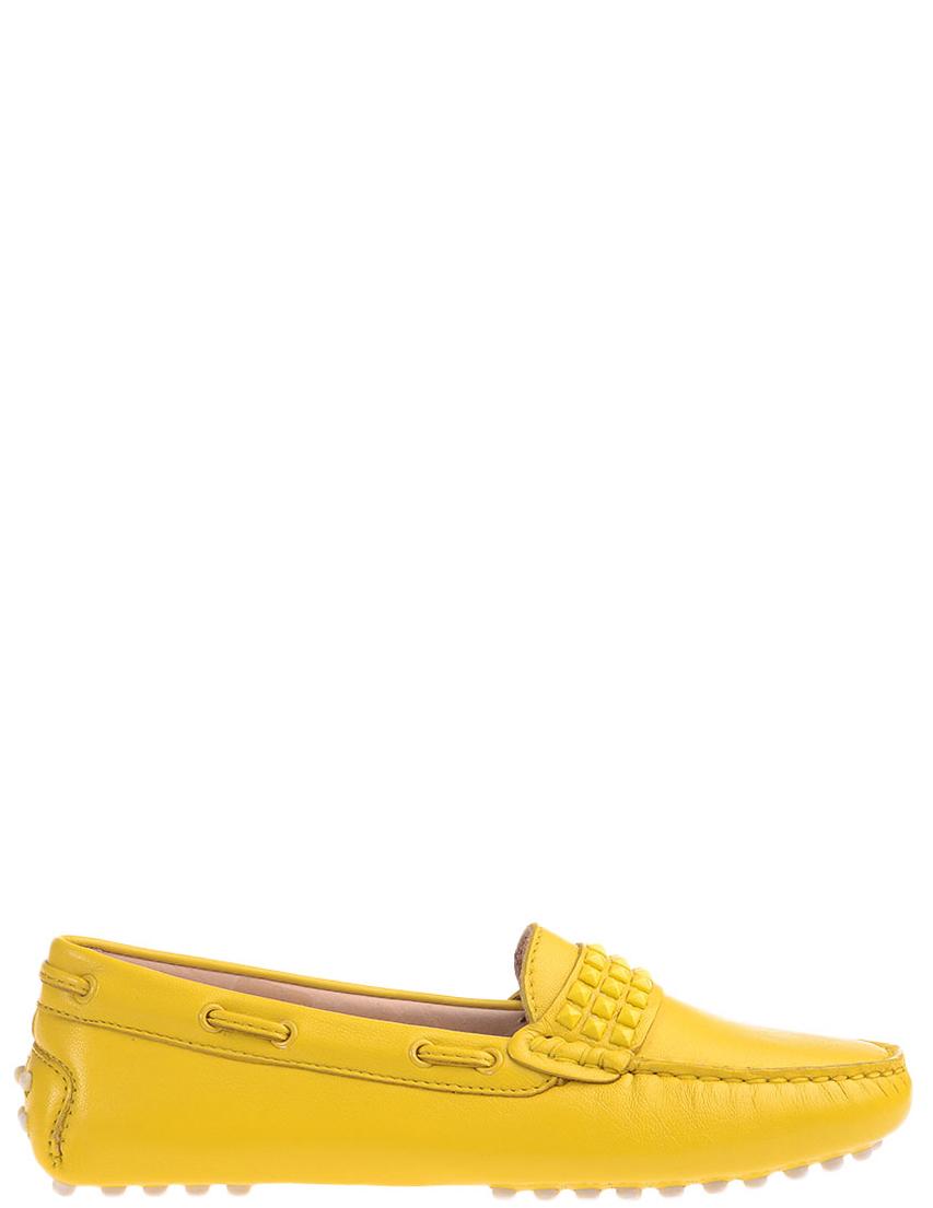 Детские мокасины для девочек FLORENS F7200giallo_yellow