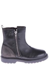 Детские ботинки для девочек NATURINO 4009-nero-antracite